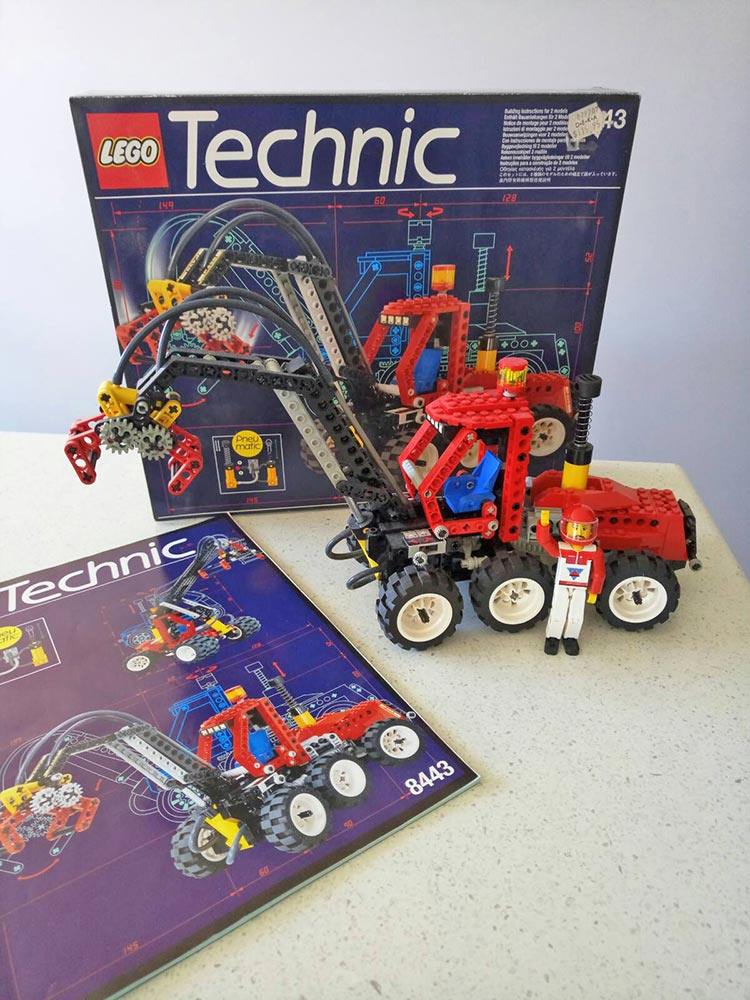Brickly - About - Childhood LEGO Sets - Technic