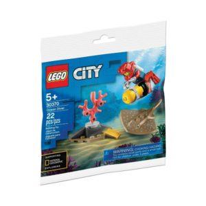 Brickly - 30370 Lego City Ocean Diver - Bag Front