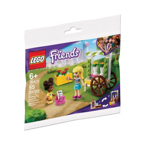 Brickly - 30413 Lego Friends Flower Cart - Bag Front