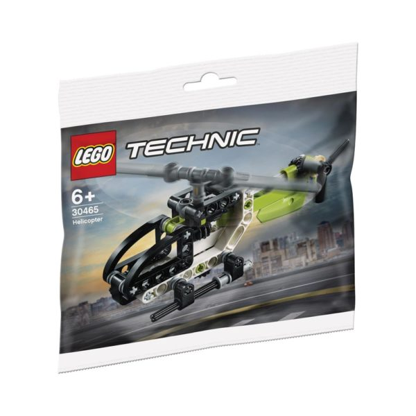Brickly - 30465 Lego Technic Helicopter - Bag Front