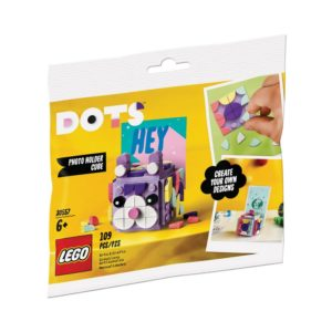 Brickly - 30557 Lego Dots Photo Holder Cube - Bag Front