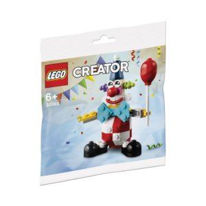 Brickly - 30565 Lego Creator Birthday Clown - Bag Front