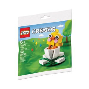 Brickly - 30579 Lego Creator Easter Chick Egg - Bag Front