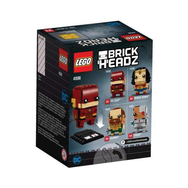 Brickly - 41598 Lego Brickheadz The Flash - Box Back
