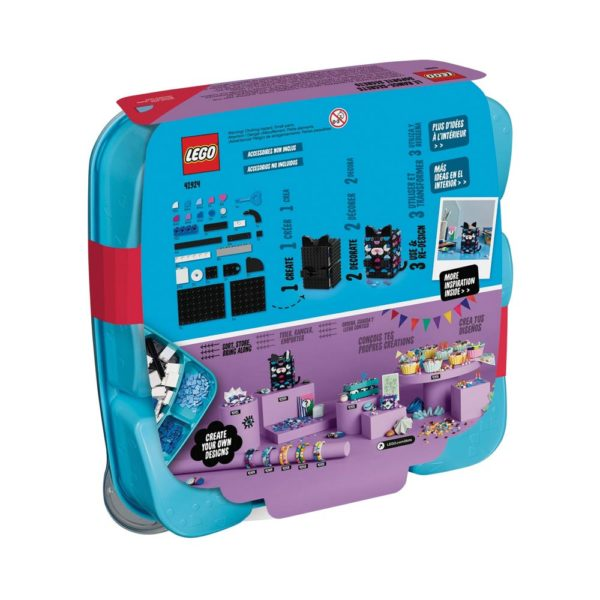 Brickly - 41924 Lego DOTS Secret Holder - Box Back