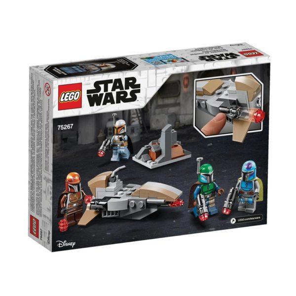 Brickly - 75267 Lego Star Wars Mandalorian Battle Pack - Box Back