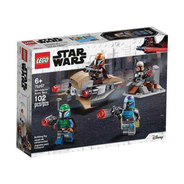 Brickly - 75267 Lego Star Wars Mandalorian Battle Pack - Box Front
