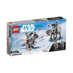 Brickly - 75298 Lego Star Wars AT-AT vs Tauntaun Microfighters - Box Front