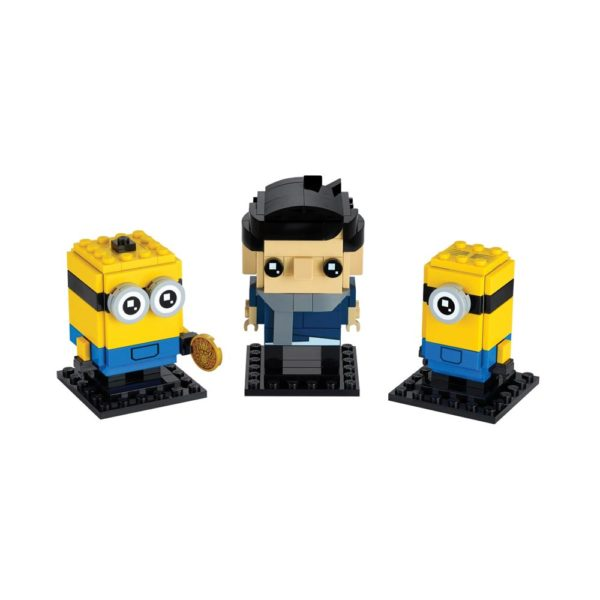 Brickly - 40420 Lego Brickheadz - The Rise of Gru - Gru, Stuart and Otto