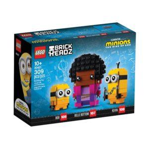 Brickly - 40421 Lego Brickheadz - The Rise of Gru - Belle Bottom, Kevin and Bob - Box Front