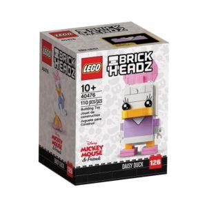 Brickly - 40476 Lego Brickheadz Daisy Duck - Box Front