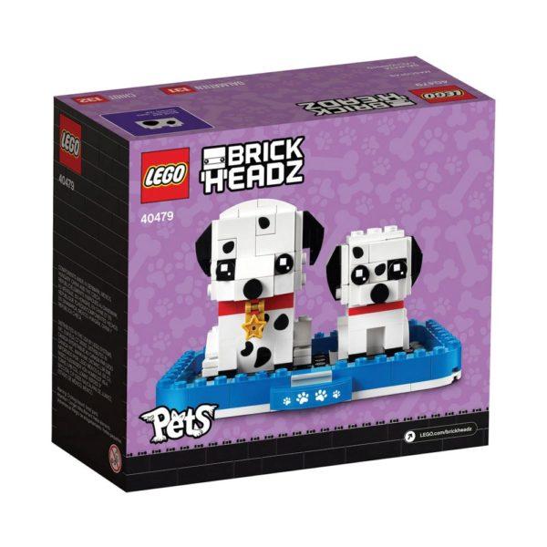 Brickly - 40479 Lego Brickheadz Dalmatian - Box Back