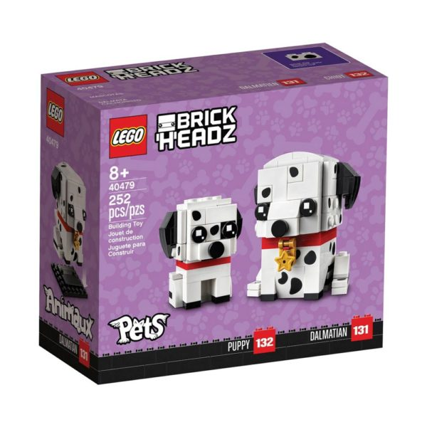 Brickly - 40479 Lego Brickheadz Dalmatian - Box Front