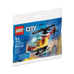 Brickly - 30566 Lego City Fire Helicopter - Polybag