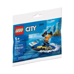 Brickly - 30567 Lego City Police Water Scooter - Polybag