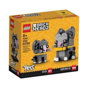 Brickly - 40441 Lego Brickheadz Shorthair Cats - Box Front