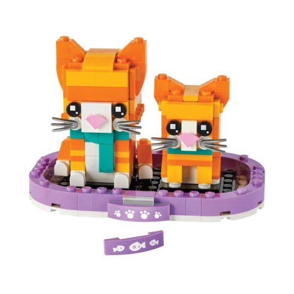 Brickly - 40480 Lego BrickHeadz Ginger Tabby