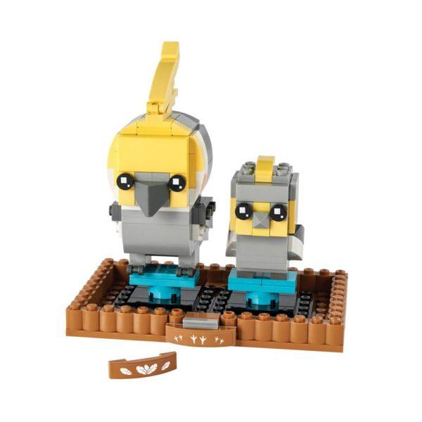 Brickly - 40481 Lego BrickHeadz Cockatiel