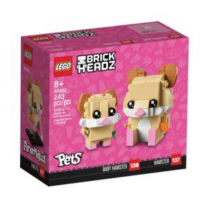 Brickly - 40482 Lego BrickHeadz Hamster - Box Front