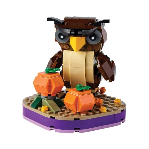 Brickly - 40497 Lego Halloween Owl