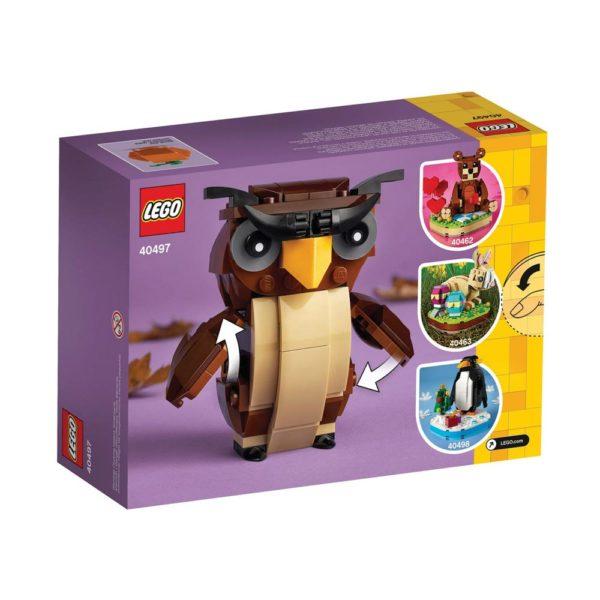 Brickly - 40497 Lego Halloween Owl - Box Back
