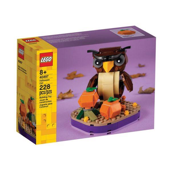 Brickly - 40497 Lego Halloween Owl - Box Front