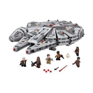 Brickly - 75105 Lego Star Wars Millennium Falcon