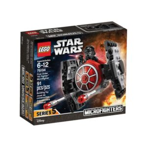 Brickly - 75194 Lego Star Wars - First Order TIE Fighter Microfighter - Box Front