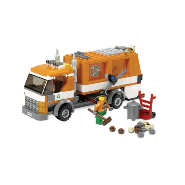Brickly - 7991 Lego City Recycle Truck