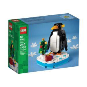 Brickly - 40498 Lego Christmas Penguin - Box Front