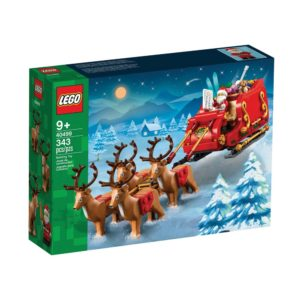 Brickly - 40499 Lego Santa's Sleigh - Box Front