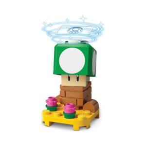 Brickly - 71394-1 Lego Super Mario Character Pack Series 3 - 1-Up Mushroom