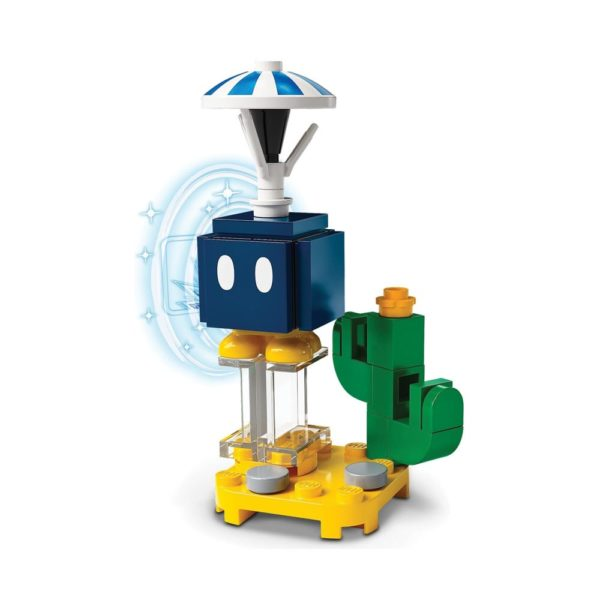 Brickly - 71394-4 Lego Super Mario Character Pack Series 3 - Parachute Bob-omb